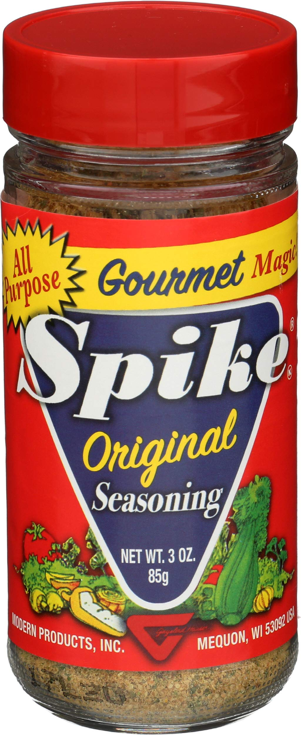 Spike Seasoning Gaylord Hauser 3 oz Salt