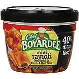 Chef Boyardee Mini Beef Ravioli, 14.25-Ounce Microwavable Bowls (Pack of 12)
