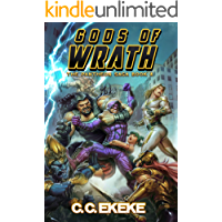 Gods of Wrath: A Superhero Adventure (The Pantheon Saga Book 4) book cover