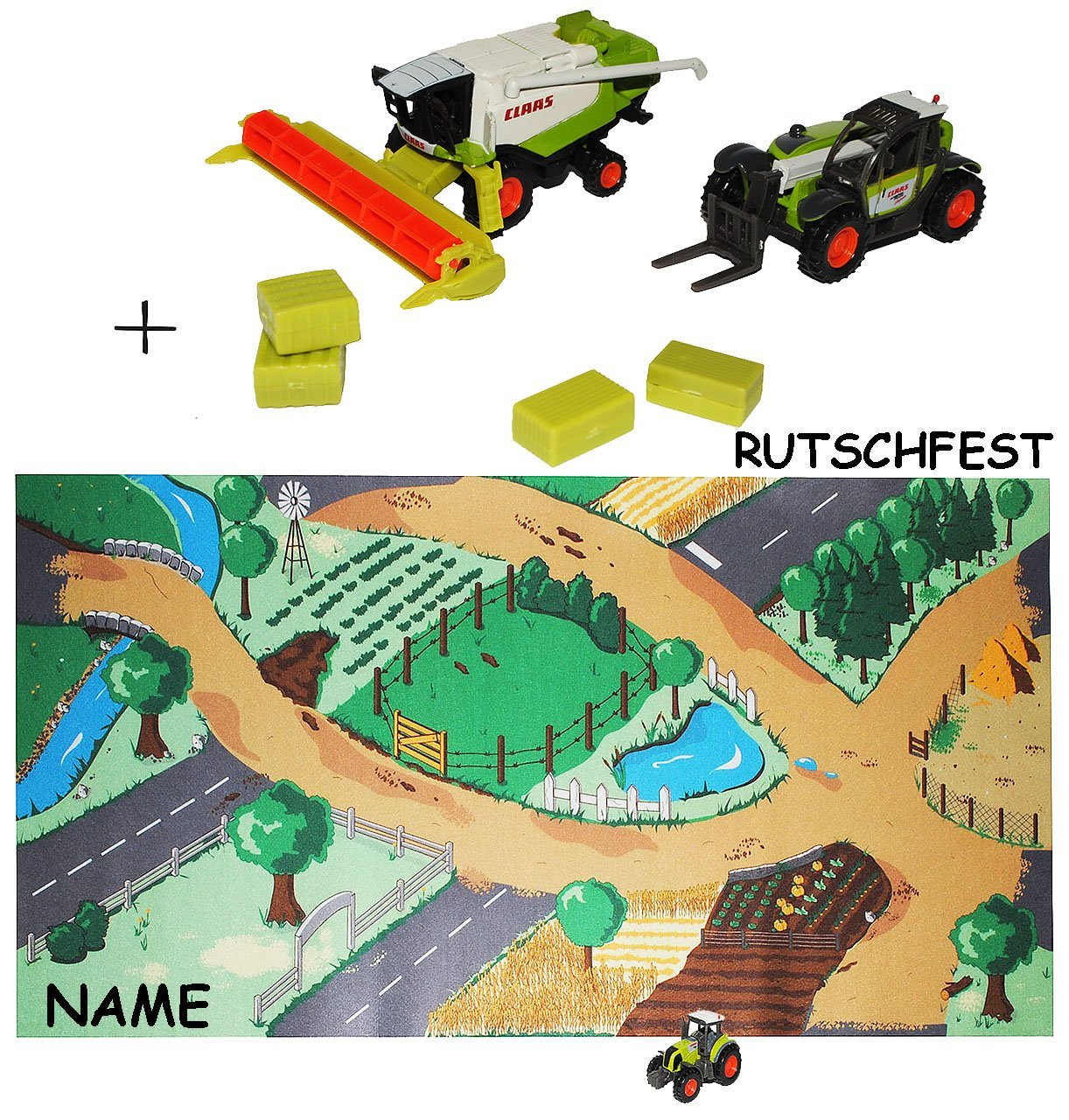 Set: Autoteppich / Spielteppich - rutschfest & ERWEITERBAR ...