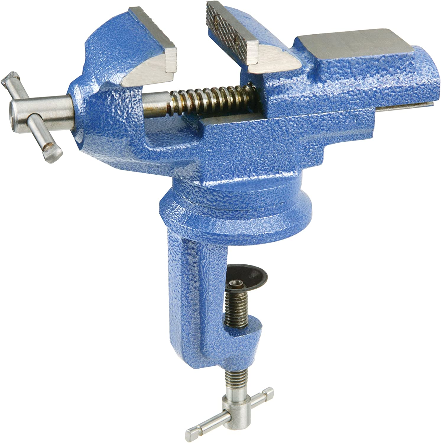 Woodstock D4128 2-1/2-Inch Clamp On Square Anvil Vise