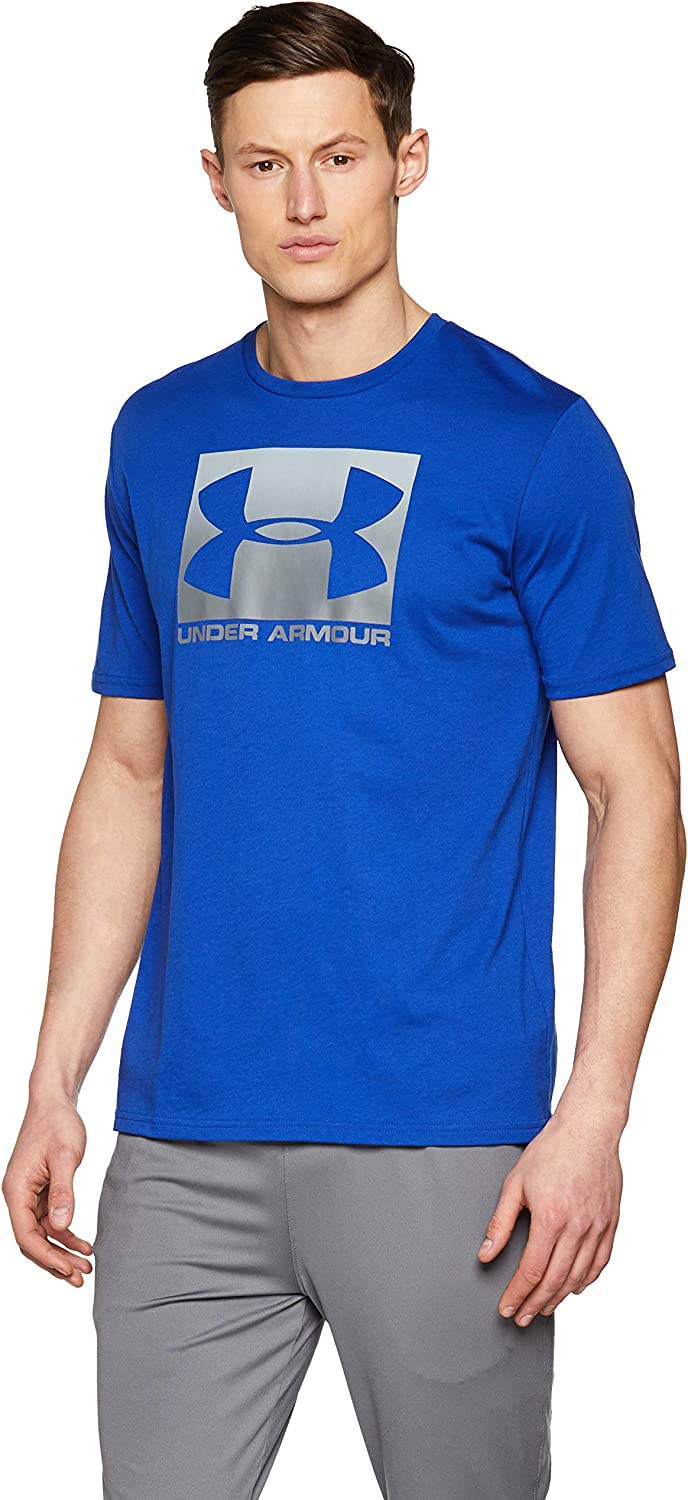 Under Armour UA Boxed Sportstyle SS Camiseta, Hombre