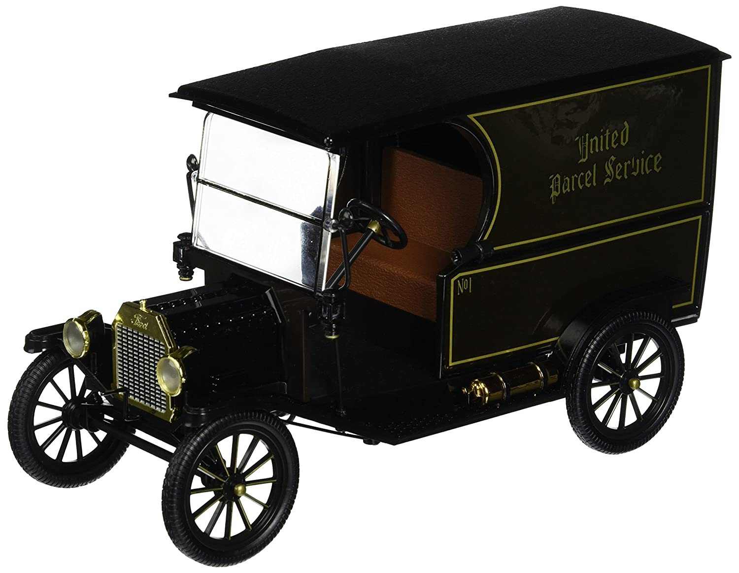 Amazon.com: Norscot Brown 1913 UPS Old No.1 Package Car: Toys & Games