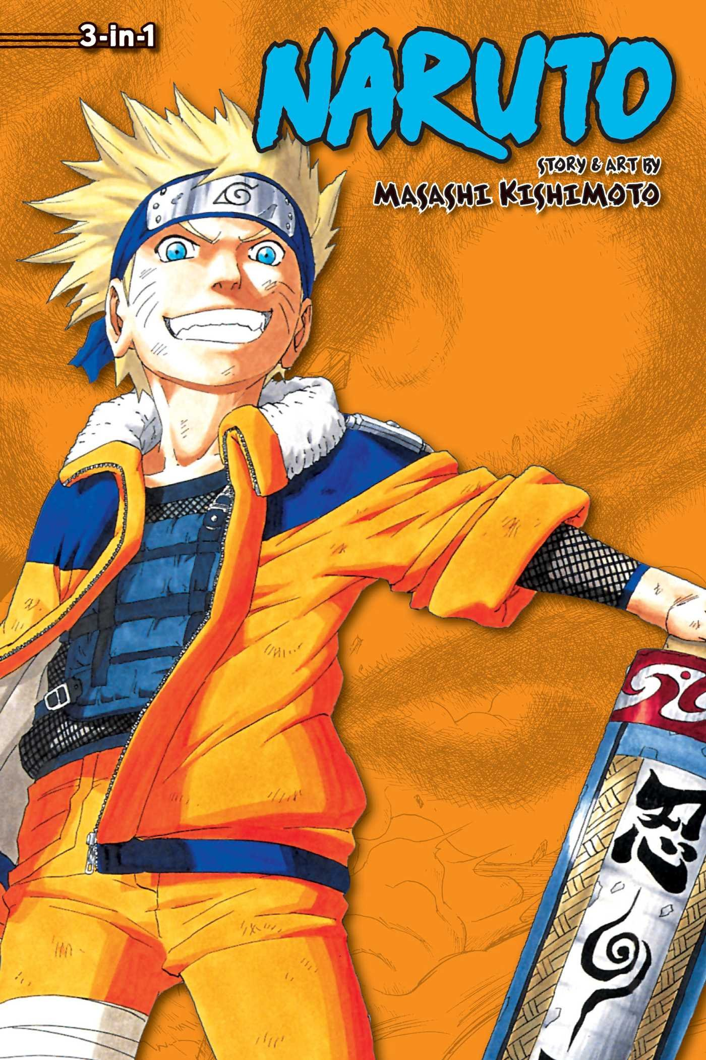 Naruto  3 In 1 Edition  Vol. 4