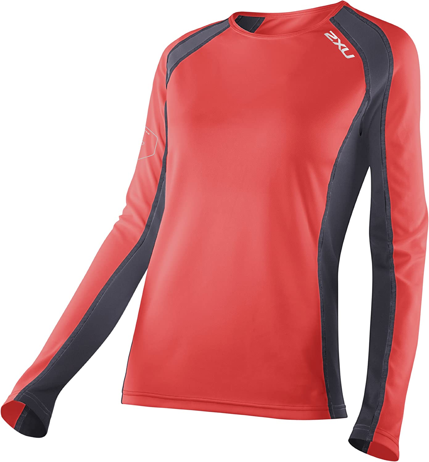 Top fashion 2XU Velocity Women'S Long-Sleeved Running Top Storm WR2165a Dusk / S