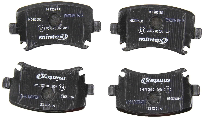 Mintex MDB2580 Brake Pad Set: Amazon.co.uk: Car & Motorbike