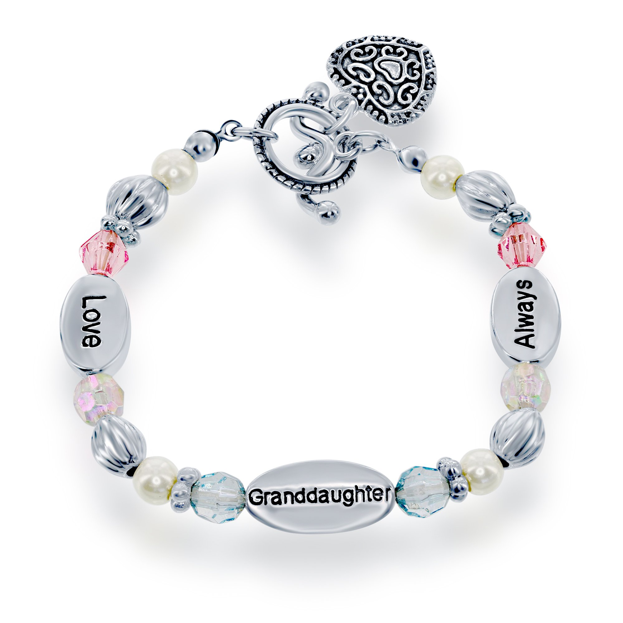 Jewellery & Watches Honesty Green Coloured Beads And Silver Coloured Charms Elasticated Bracelet Fixing Prices According To Quality Of Products