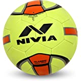 Nivia Classic Rubber Football, Size 5 (Yellow/Orange)