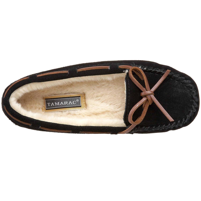 Tamarac by Slippers International Women's Low Molly Faux Slipper Blitz B005J4AGV0 9 C/D US|Black