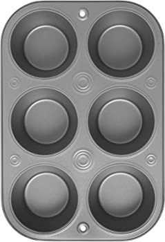 G & S Metal Products Company OvenStuff 6 Cup Jumbo Muffin Pan