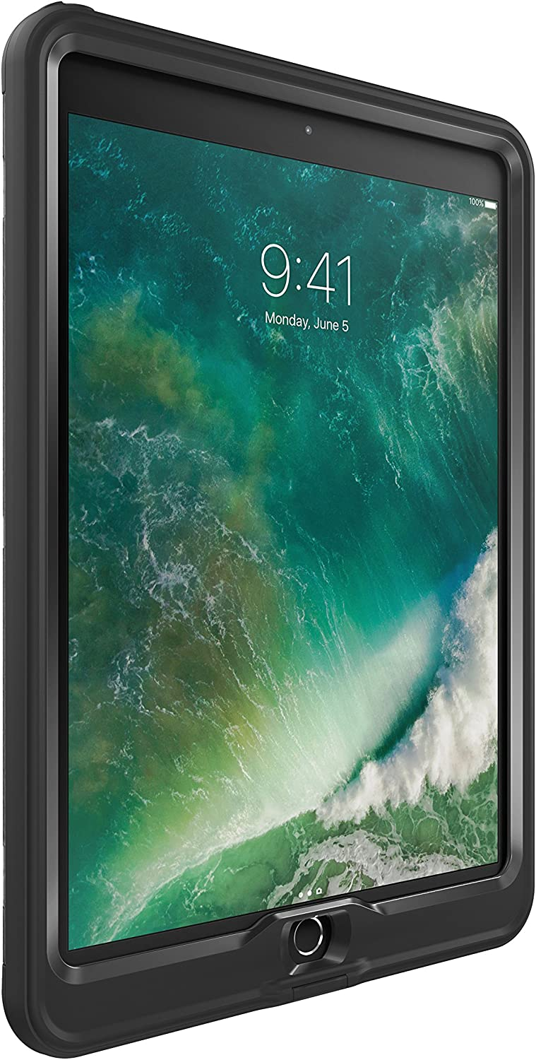 "LifeProof NÜÜD Series Waterproof Case for iPad Pro (10.5"" - 2017 Version) - Retail Packaging - Black (77-55825)"