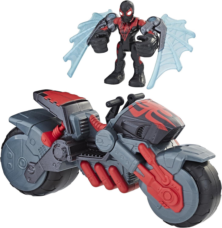 Playskool Héros Spider-Man Marvel Super Hero Adventures Kid Arachnid Web Roues