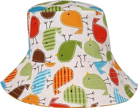 Green Baby Bucket Hat. Toddler Bird Hat Toddler Green Hat Baby Beach Hat