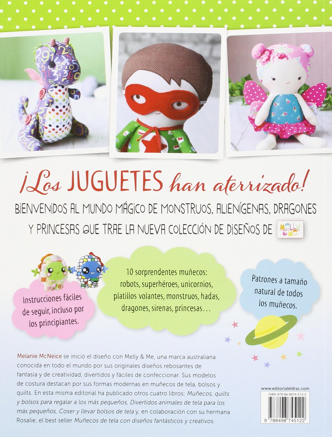 Muñecos Fantásticos De Tela: Amazon.es: Melanie McNeice, Laia ...