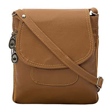 Awesome Fashions Women's Sling /Side Bags ( Beige ): Amazon.in ...