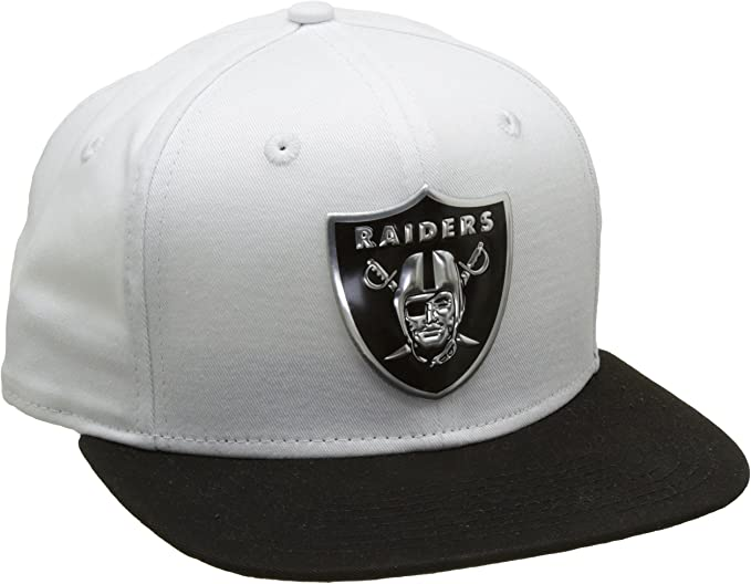 A NEW ERA Era 950 Oakland Raiders Gorra, Hombre, Blanco, M ...