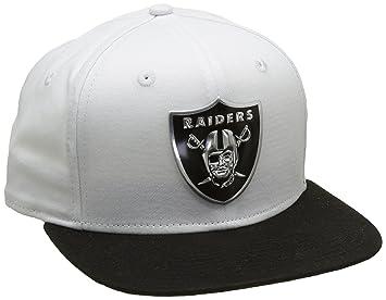A NEW ERA Era 950 Oakland Raiders Gorra, Hombre, Blanco, SM: Amazon.es: Deportes y aire libre