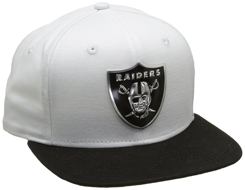 New Era 950 Oakland Raiders Gorra, Hombre, Blanco, SM: Amazon.es ...