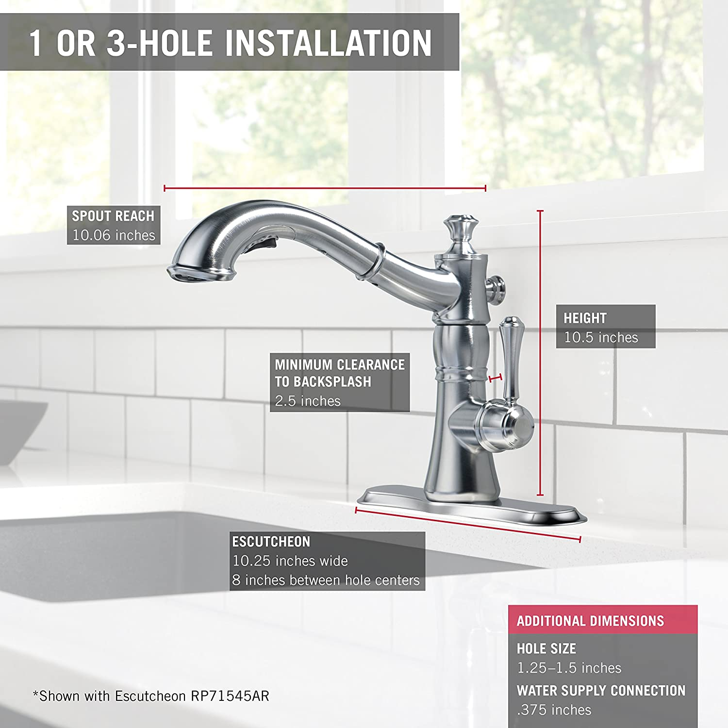 mount delta htm stainless ar deck faucet item arctic grand kitchen dlt cassidy and by baths briggs kitchens dst faucets
