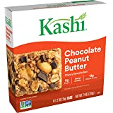 Kashi, Chewy Granola Bars, Chocolate Peanut Butter, Vegan, 7.4oz Box (6 Count)