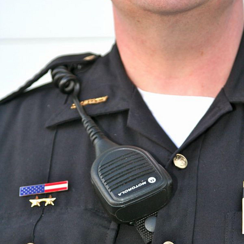 Gould /& Goodrich K616 Epaulet Microphone Holder Black