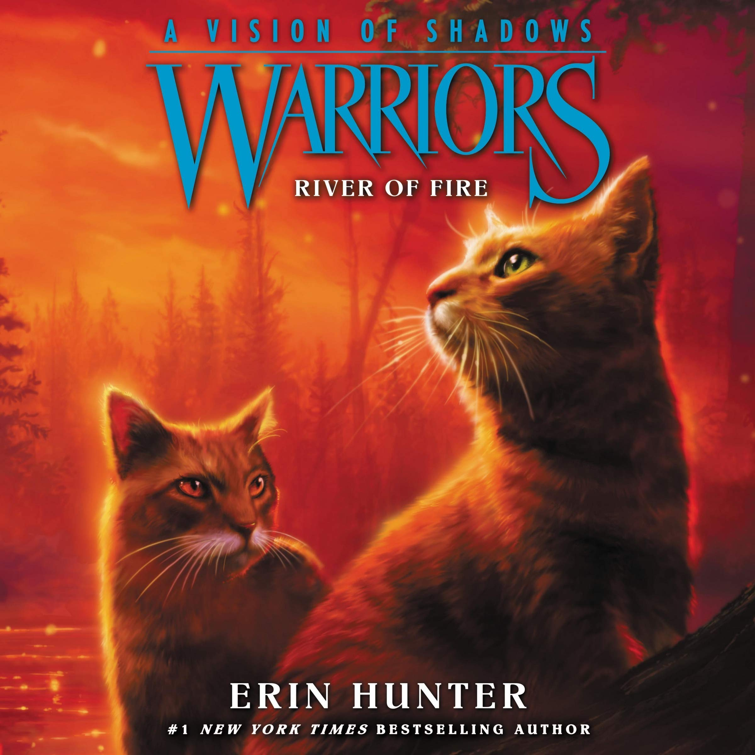 Warriors: A Vision of Shadows #5: River of Fire: Warriors: A Vision of Shadows Series, book 5: Erin Hunter: 9781982610548: Amazon.com: Books