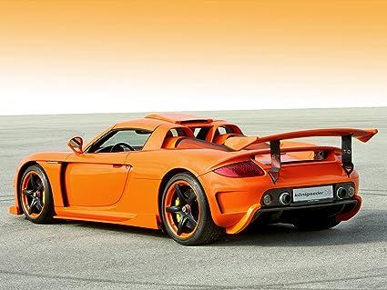 Amazon Com Porsche Carrera Gt By Koenigseder 2008 Car Art Poster
