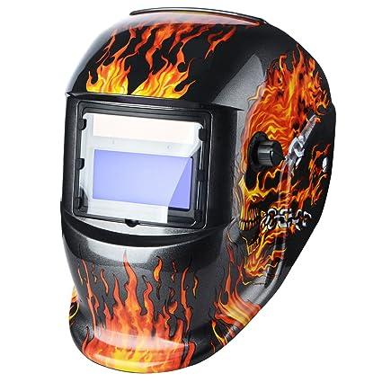 Casco de soldar solar con oscurecimiento automático máscara de soldadura nueva DIN9 – 13