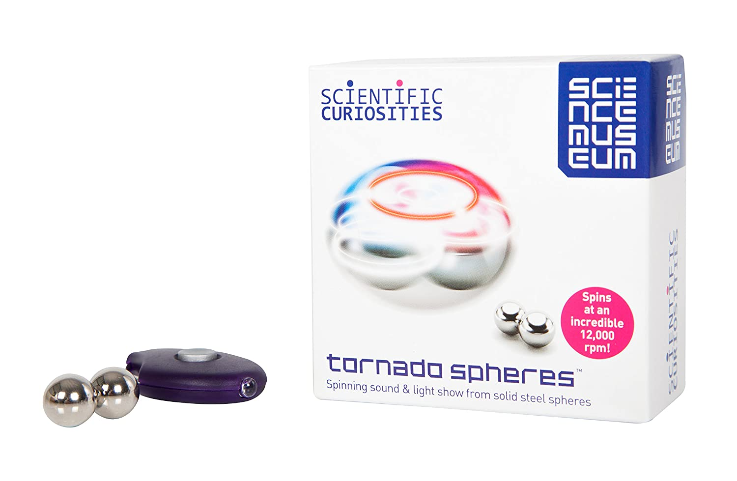 Introduce To Science - Children Kids Boy Girl Boys Girls - Top Selling Science Museum Tornado Spheres - Wonderful Idea for Stocking Filler Christmas Xmas Easter or Birthday Present Gift - Age 8+ Jardines Online Warehouse