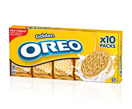 10 paquetes de galletas Oreo doradas (paquetes de 220 ...