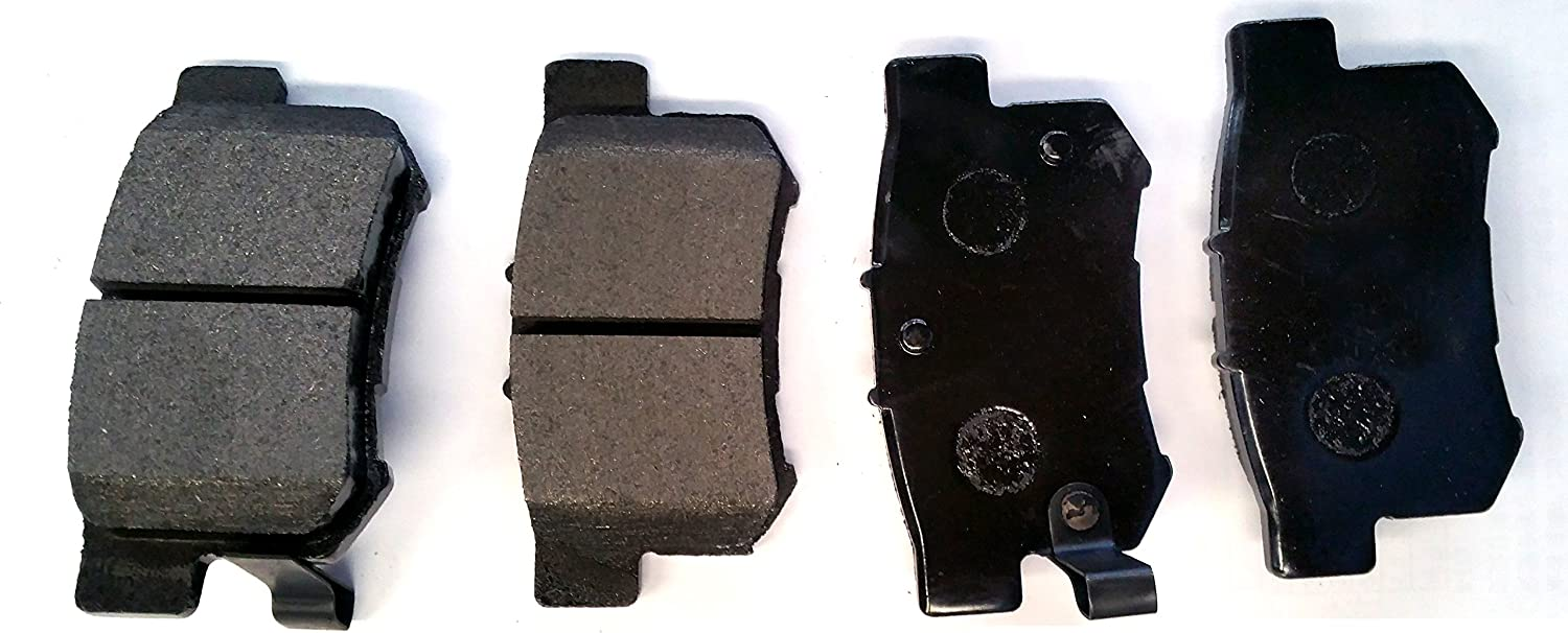 Stirling Both Left and Right SMD537 Semi Metallic Disc Brake Pads Set - Rear