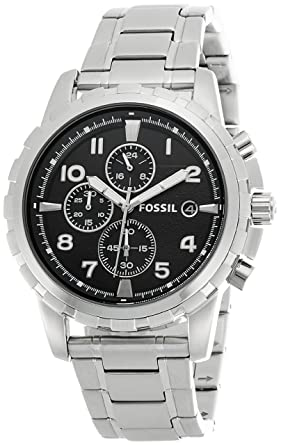 Image Unavailable. Image not available for. Colour  Fossil Dean Chronograph  Analog Black Dial Men s Watch ... ffb74bf89c
