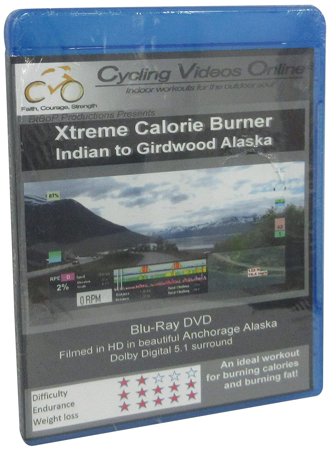 Xtreme Calorie Burner! Indian to Girdwood.BLU_RAY EDITION Virtual Indoor Cycling Training / Spinning Fitness and Weight Loss Videos Blu-ray: Amazon.es: Cine y Series TV
