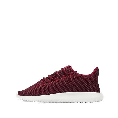 adidas Originals Tubular Shadow - Zapatillas de Malla Para Hombre Granate/Blanco: Amazon.es: Zapatos y complementos