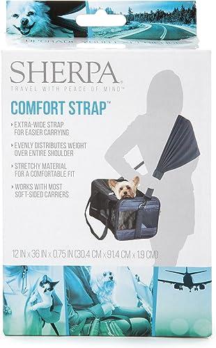 Sherpa Comfort Strap Black
