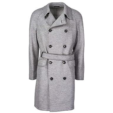 8dfa368381c0 Emporio Armani double boutonnage manteau homme gris EU 50 (UK 40)  11LC5011910 616  Amazon.fr  Vêtements et accessoires