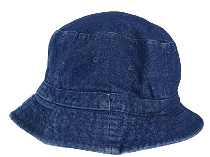 Image Unavailable. Image not available for. Color  Denim Bucket Hat for Men  ... eb51f8c12a5