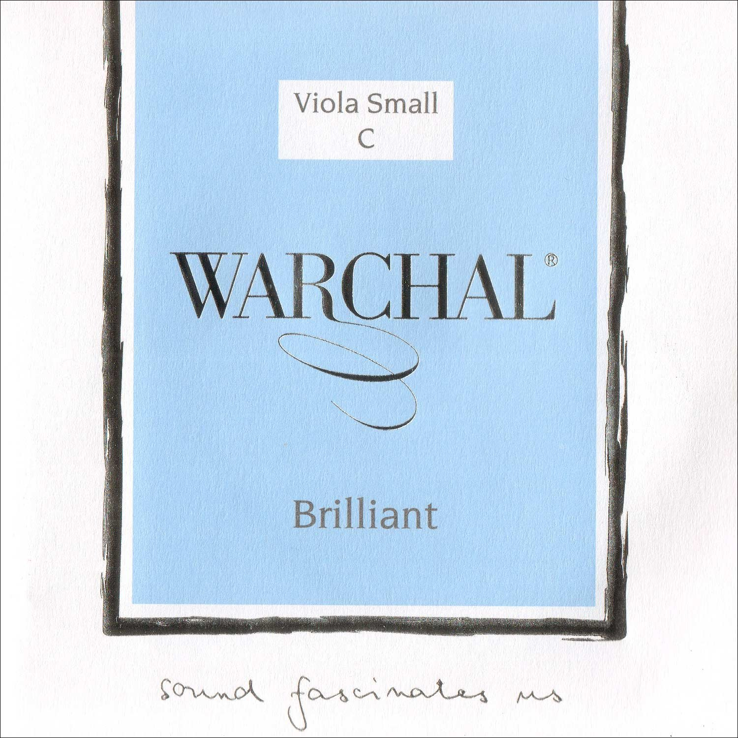 Warchal Brilliant 15-16 Viola C String - Silver Wound/Synthetic - Medium Gauge 4334277218
