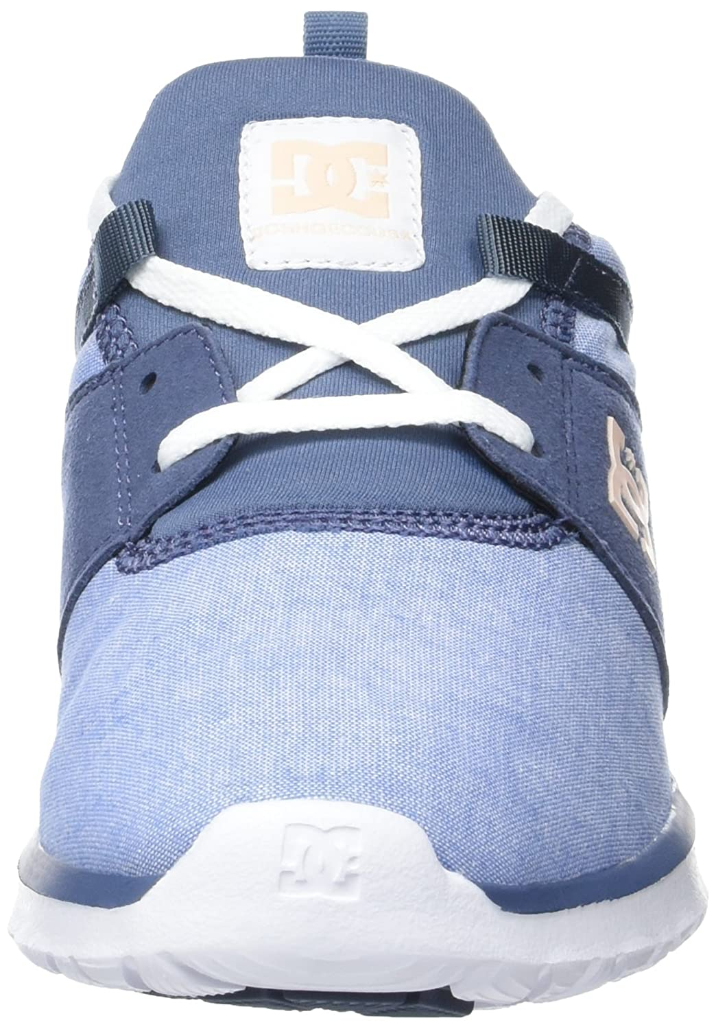 DC schuhe Damen Heathrow Heathrow Heathrow Se Flach blau 36 EU c8e198
