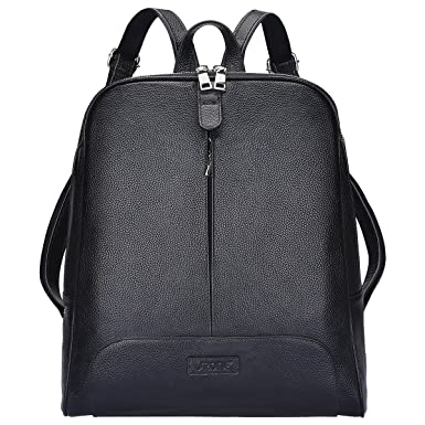 Amazon.com | S-ZONE Women Genuine Leather Backpack Purse Travel ...