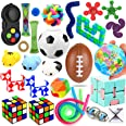28 Pack Sensory Toys Set, Relieves Stress and Anxiety Fidget Toy for Children Adults, Special Toys Assortment for Birthday Pa