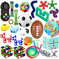 28 Pack Sensory Toys Set, Relieves Stress and Anxiety Fidget Toy for Children Adults, Special Toys Assortment for…