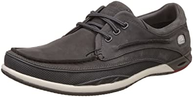 clarks men's orson lace leather sneakers