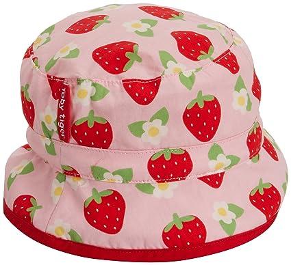 Toby Tiger Strawberry Reversible Sun Hat 0-3m 56cm ca2bb4b96651