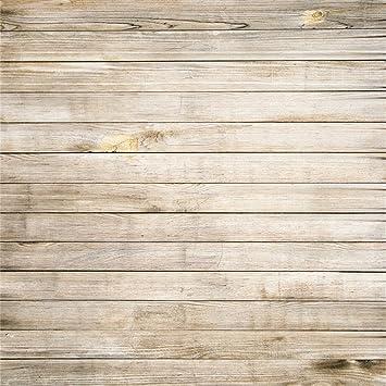 YongFoto 2x2m Vinilo Fondo de Fotografia Tablero de Textura de Tablones de Madera Rústica Viejo de
