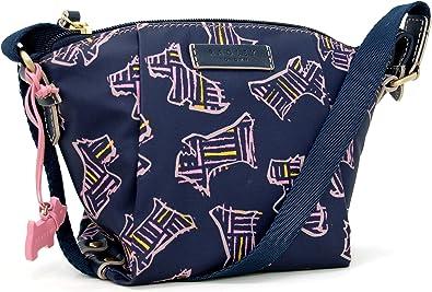 Radley Kenwood Petit sac à bandoulière en toile cirée avec