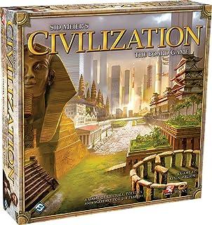 Fantasy Flight Games Sid Meier's Civilization the Board Game Fantasy Flight Games Sid Meier's Civilization the Board Game CI01 Board Games