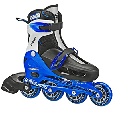 Roller Derby Vtech/Cobra Inline Skates with Adjustable Sizing for Kids, Teens, and Adults : Sports & Outdoors