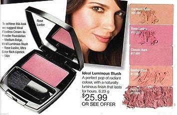 Amazon.com : Avon Ideal Luminous Blush Highlighter ~ Rose Lustre ...
