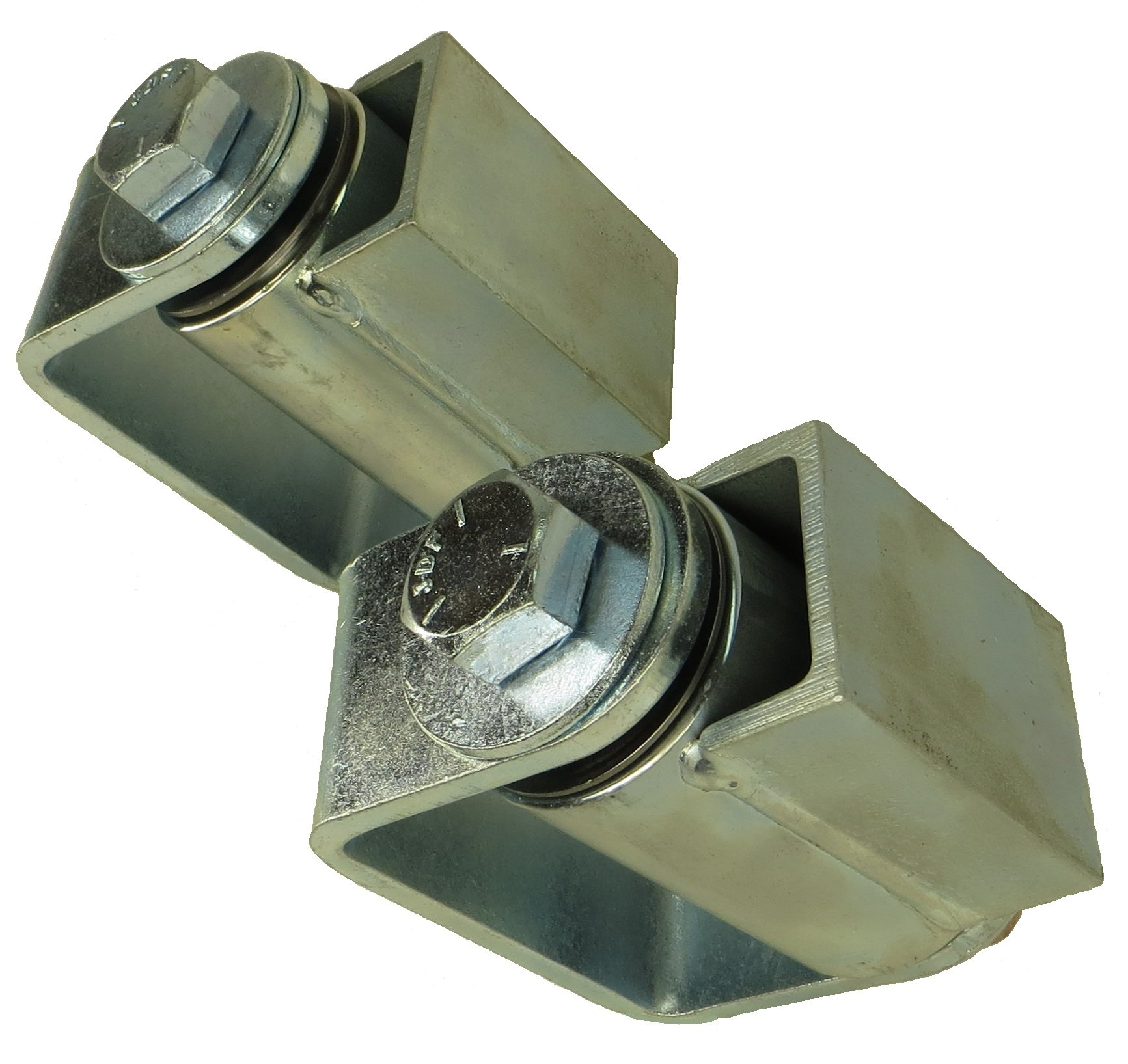 Fitt-Rite HBR-400 4'' Heavy Duty Adjustable Sealed Bearing Hinge (Pair)-MADE IN USA by Fitt-Rite